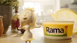 Rama girl helping hand